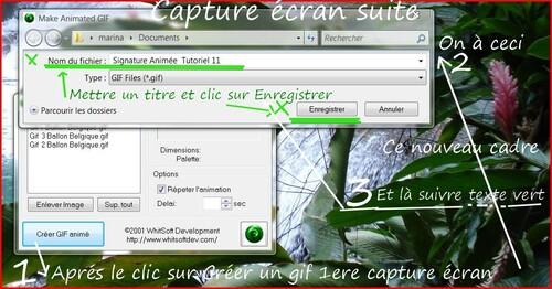 Tutoriel 12 Préparation  une petite bannière signature cliquable pour blog et forum