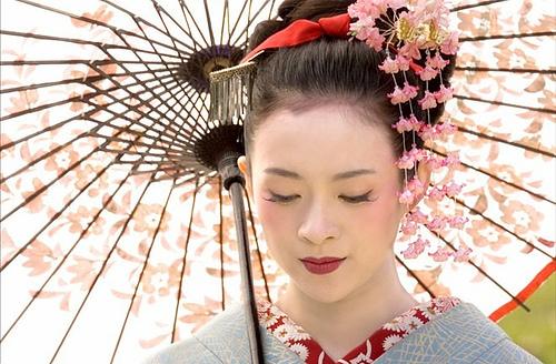 maquillage geisha histoire