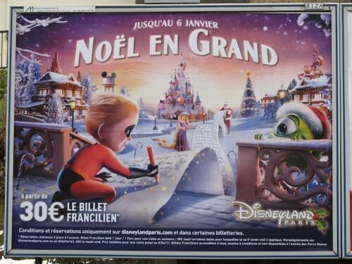 affiche Noël Disney 5193