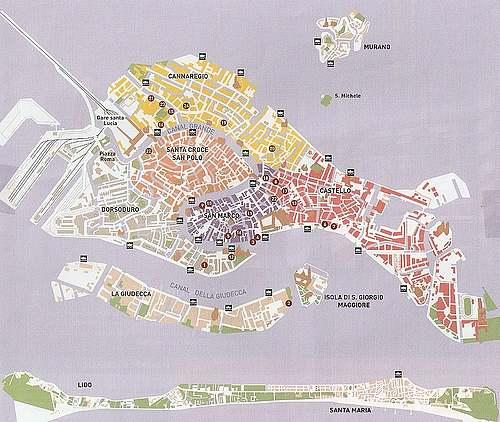 Patimoine mondial de l'Unesco : VENISE et sa lagune - Italie -