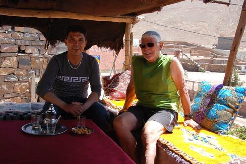 Thé avec Hamid