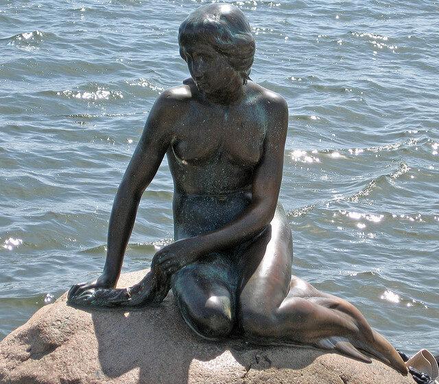 den lille havfrue Copenhague