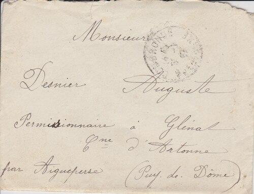 04/01/1917 Mme Espagnol