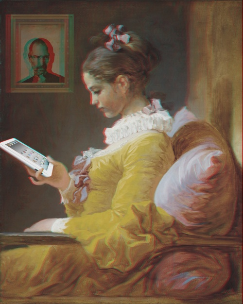 La liseuse à l'Ipad