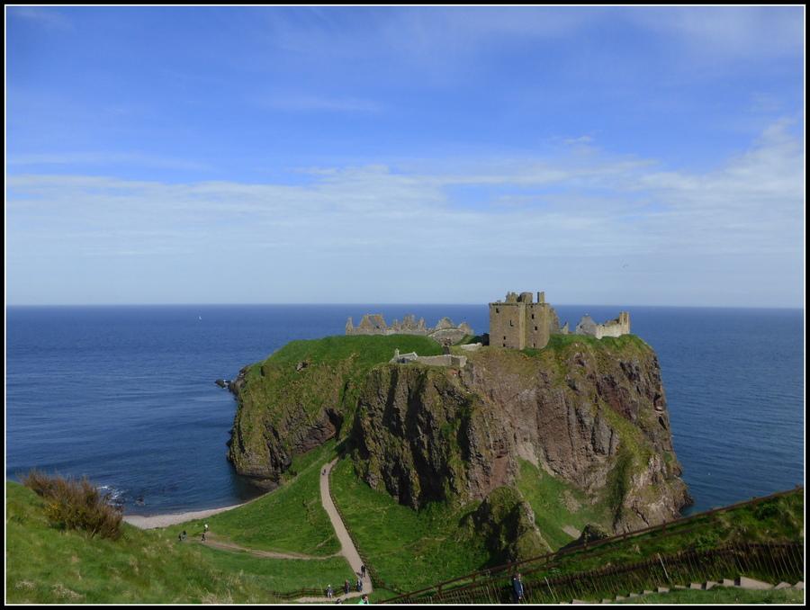 Voyage en Ecosse N°8 : Dunnottar castle ( Côte Nord-est )