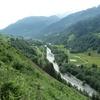 La haute vallée du Rhin Antérieur