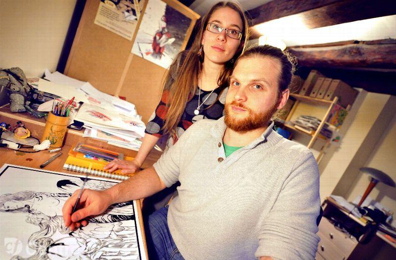 Olivier et Patricia Floric