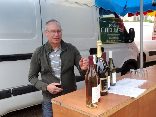 Le marché gourmand 2012 à Villiers le Duc...