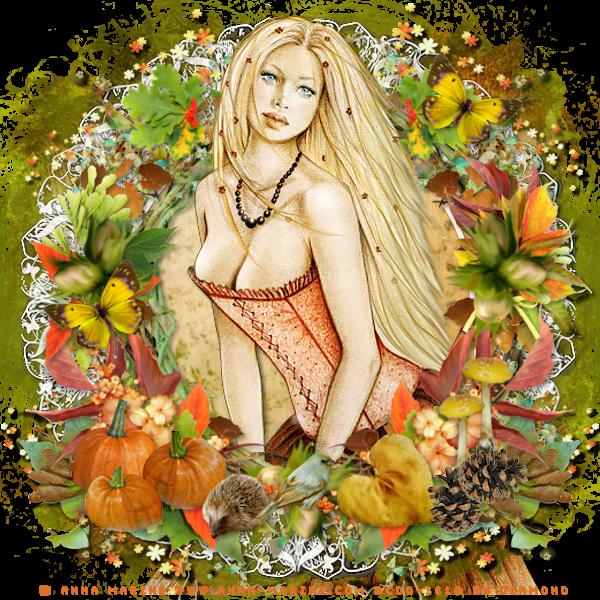 "Tutoriel ""Fall In Color"" de Ziscadesign"