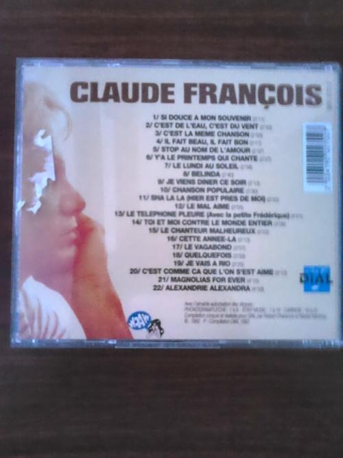 Claude François Chanson Populaire (Compilation) cd 1992