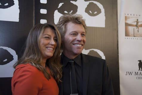 Jon Bon Jovi au festival du film de Chicago