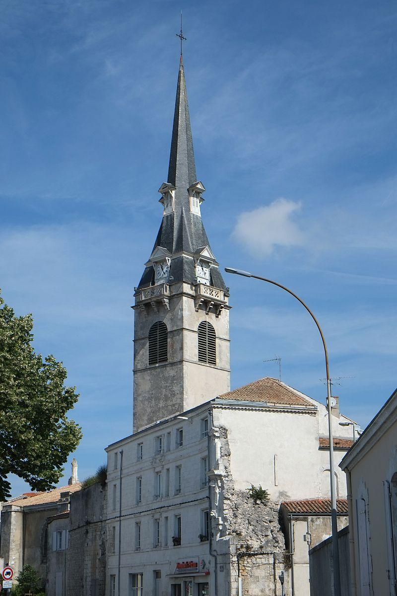 Clocher de l'église Notre-Dame-de-Cougnes
