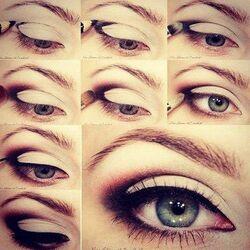 maquillage sombre serie num:2