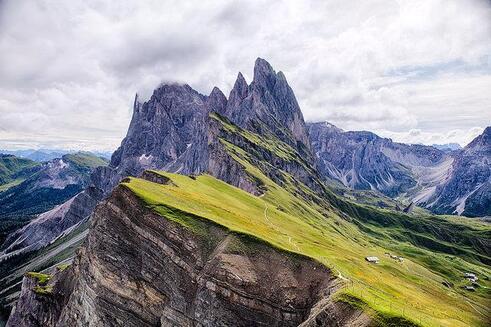 plus belles montagnes alpes dolomites