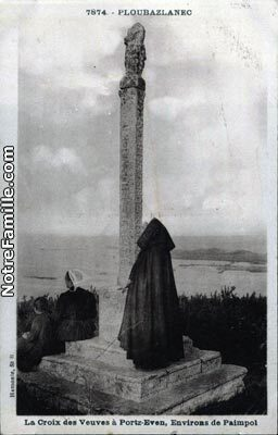 cartes-postales-La-Croix-des-Veuves-Portz-Even