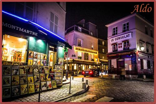 PPS Montmartre de nuit