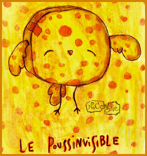 Le poussinvisible