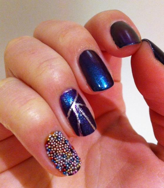 Nail Art Pik Avenue: Tuto Nail-Art #2: Ozotic'n Caviar