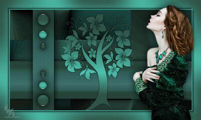 Dekoratív modell képek 2