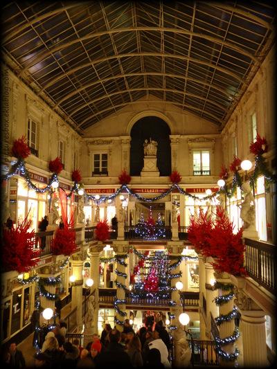 Passage marchand à Noël