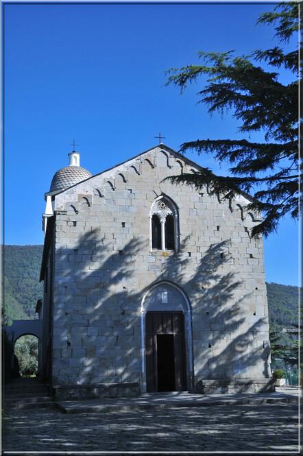 Italie, les 5 Terres (7) : l'église de Volastra