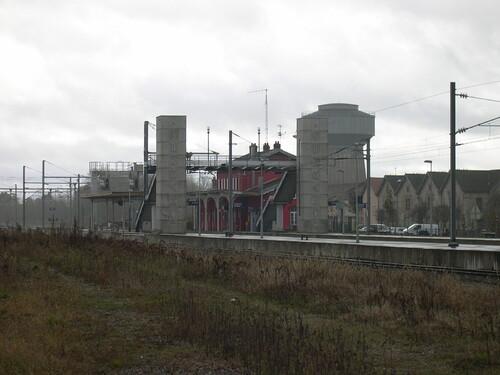 La gare en 2008