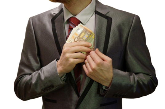 2_-_corruption_-_man_in_suit_-_white_background_-_euro_banknotes_hidden_into_left_jacket_inside_pocket_-_royalty_free,_without_copyright,_public_domain_photo_image