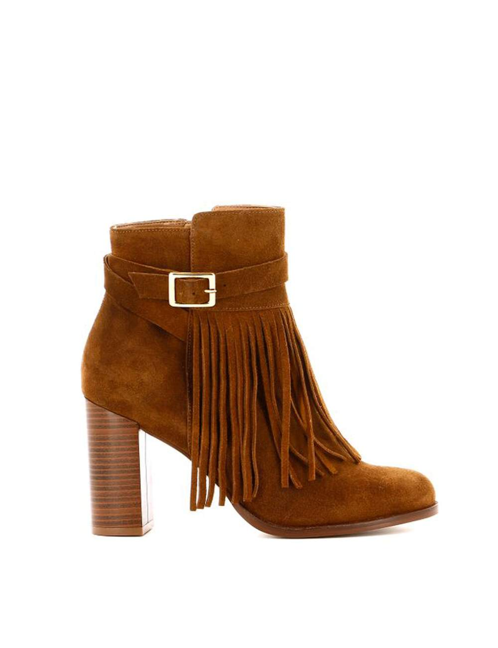 La boots frangée
