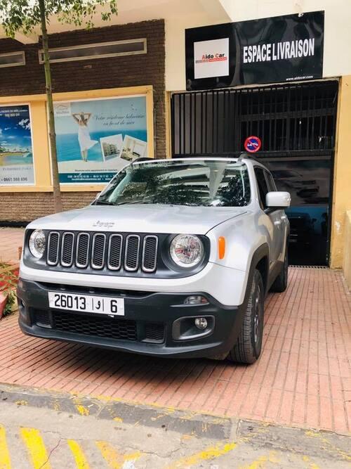 Location de voiture à Casablanca – La nouvelle Jeep Renegade est désormais disponible à la location !