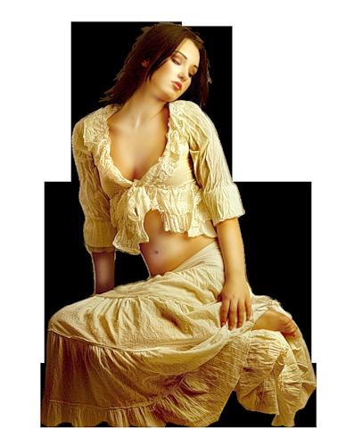 FEMMES MARRON DORER