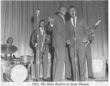THE BLUES BUSTERS