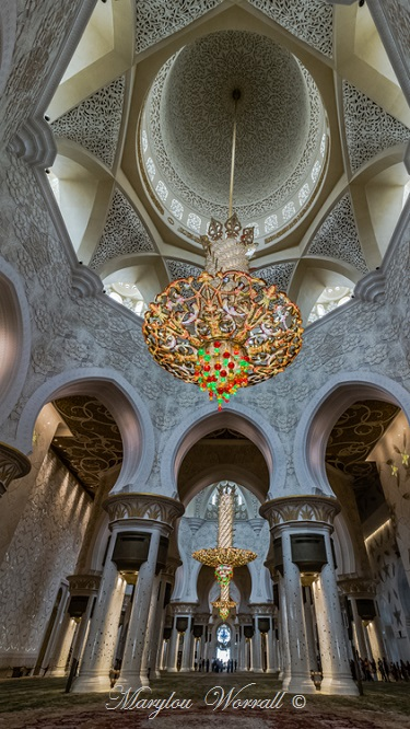Abu Dhabi : Mosquée 5/ (Salle de prière suite)