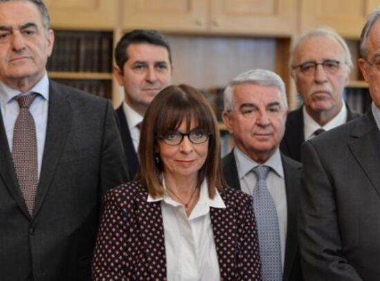 Ekaterini Sakellaropoulou, présidente de la République * Αικατερίνη Σακελλαροπούλου, πρόεδρος