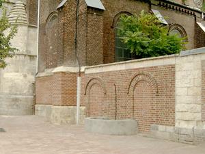 Denain, fontaine Saint Remfroye