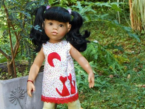GOTZ : Moanna et sa tenue estivale