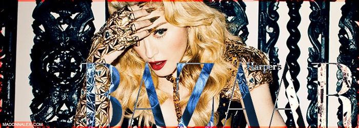 Madonna - Harpers Bazaar 2013