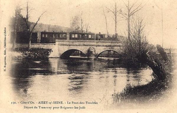 Souvenirs de Pierre Roy : Le retour de l'école de Châtillon, en tramway, jusqu'à Aisey