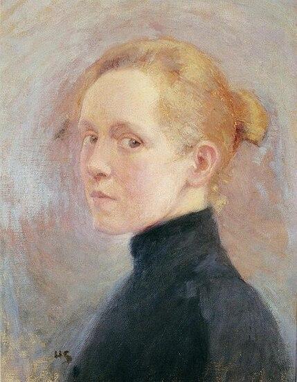 Autoportrait :  Helene Schjerfbeck