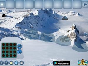 Jouer à Plane crash in snow escape