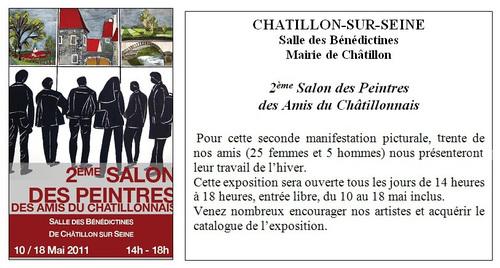 Section peinture des Amis du Châtillonnais