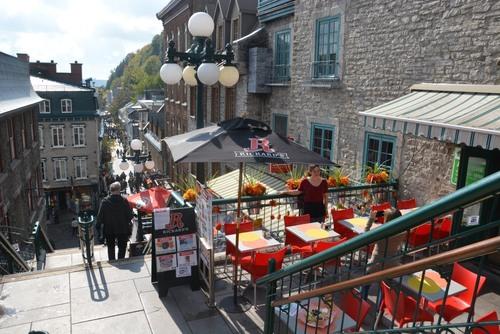 Quebec, escalier du Casse-cou