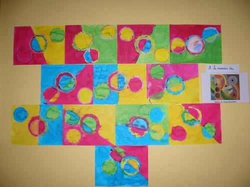 Arts plastiques et graphisme : les ronds