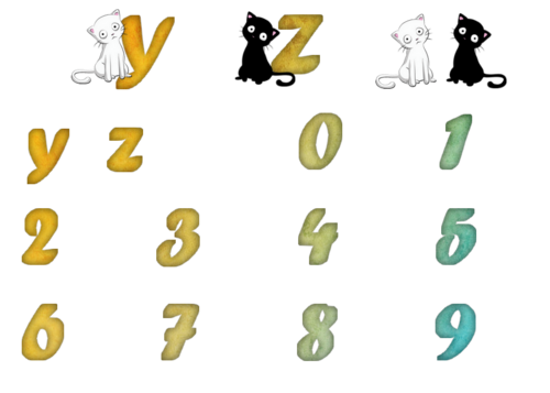 alphabet png chat