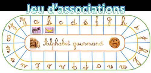 L'alphabet gourmand!