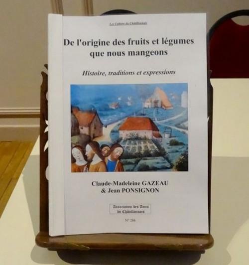 """Jean Ponsignon a dédicacé son ouvrage """"De l'origine des fruits et légumes que nous mangeons"""""""