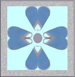 Fleur bleue ou clé des champs .