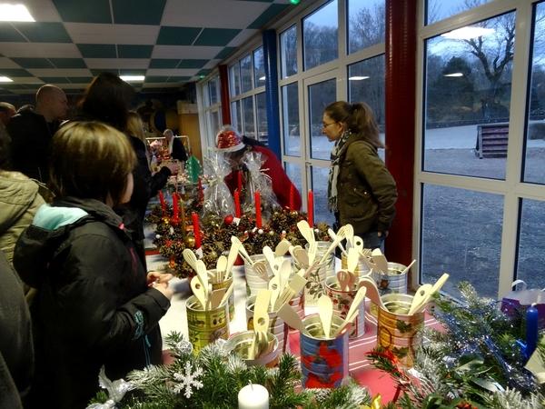 Le marché de Noël 2014 de l'école Saint Bernard de Châtillon sur Seine