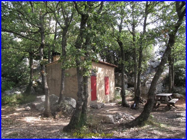 Sainte Victoire, le refuge Baudino