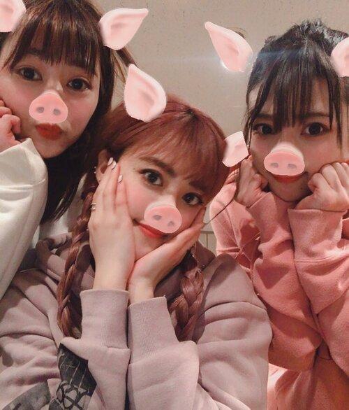 Sur le compte Twitter du groupe PINK CRES. - 15.02.19