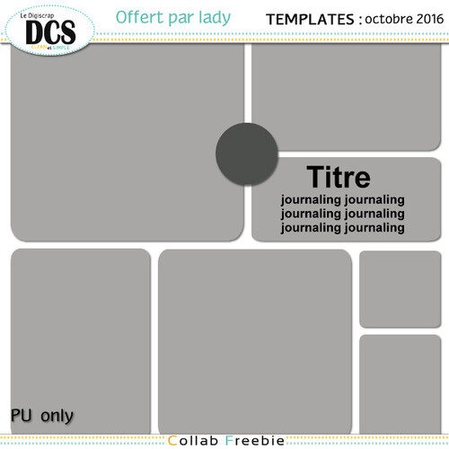 Templates DCS octobre